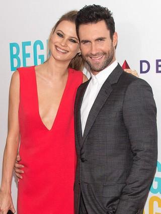 Adam Levine và vợ, siêu mẫu Behati Prinsloo