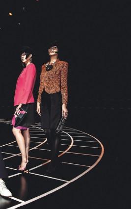Buổi trình diễn One Night Only của Giorgio Armani tại Thượng Hải