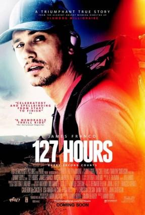 James Franco trong bộ phim 127 Hours được đề cử Oscar