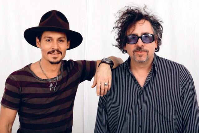Người anh em Johnny Depp và Tim Burton