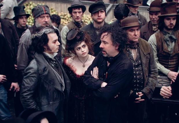 Cặp bài trùng của hollywood Johnny Depp và Tim Burton