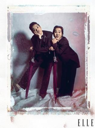 Anh em nghệ sĩ Thành Lộc và Bạch Long