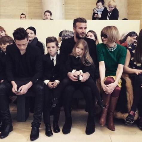 Những thành viên trong gia đình David Beckham
