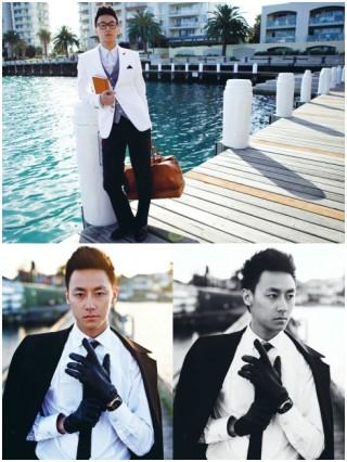 Phong cách đàn ông lịch lãm của Rocker Nguyễn