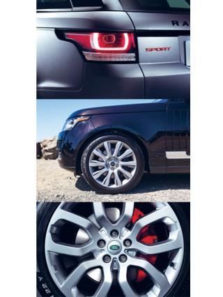 Chi tiết bánh xe của dòng xe Range Rover Sport