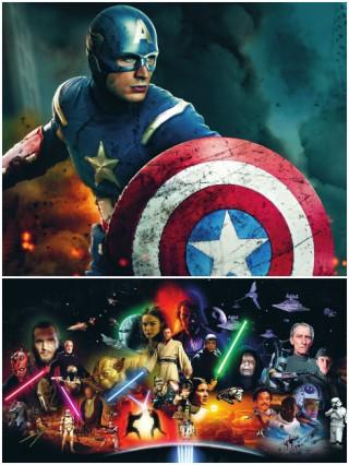 Thú vui xem phim hollywood có siêu anh hùng