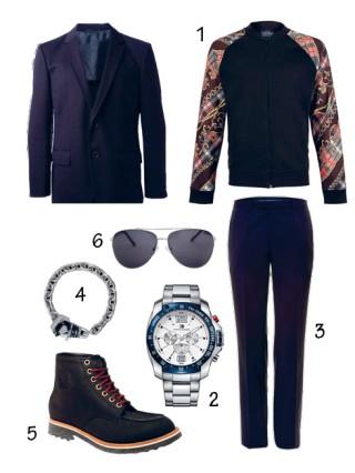 Cách phối áo vest xanh đẹp