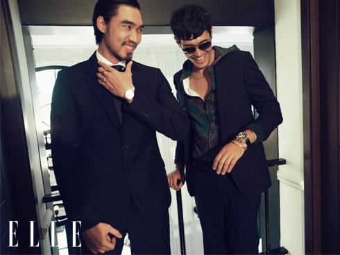 Cách phối đồ nam đẹp với áo vest xanh