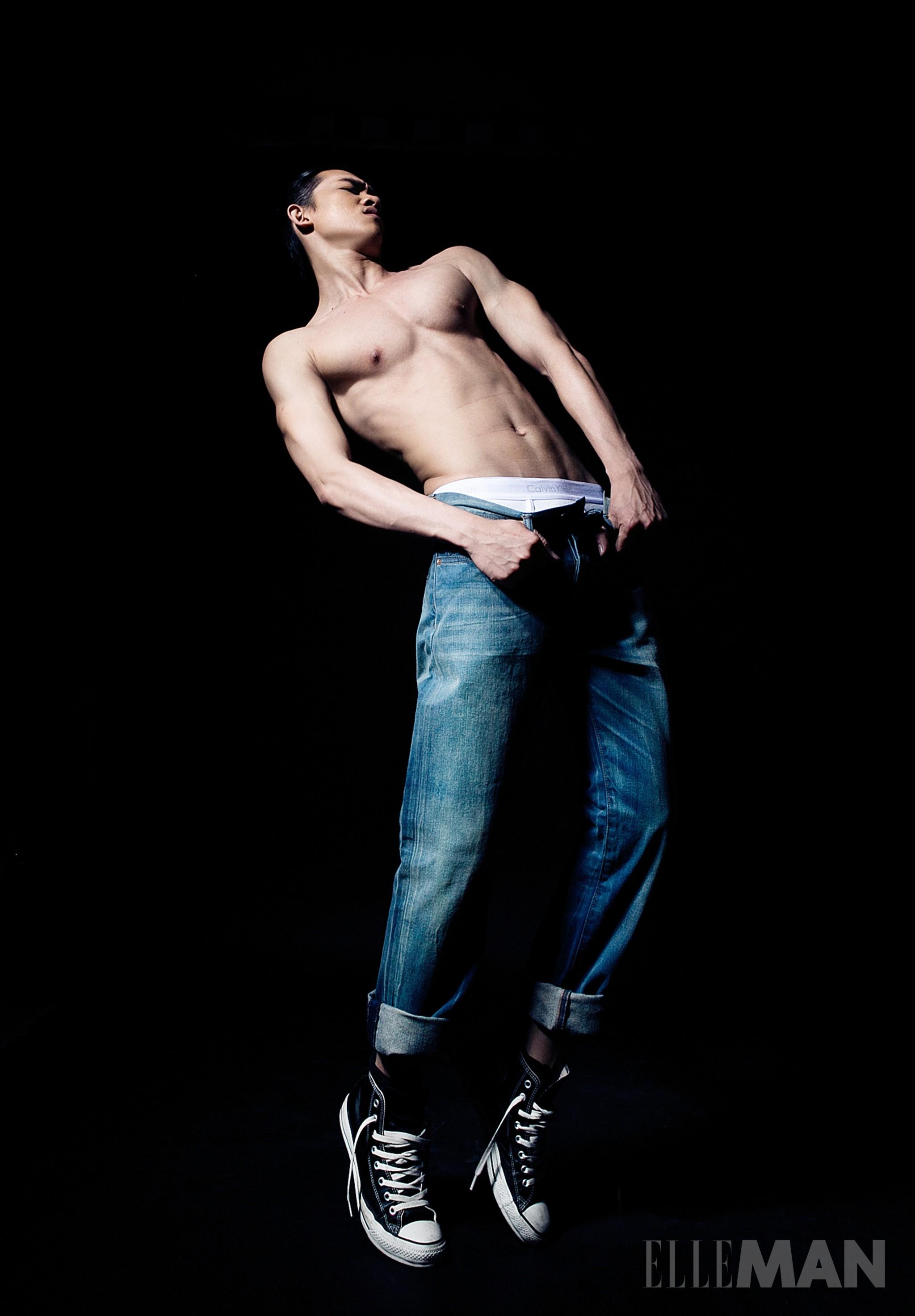 Body của người mẫu Võ Cảnh