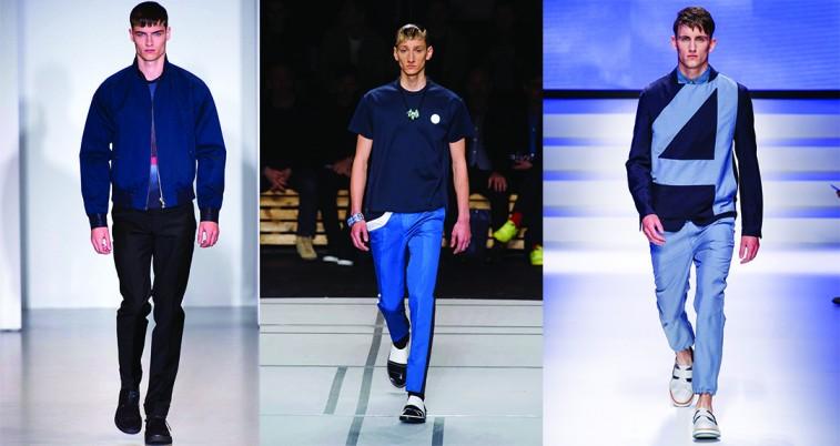 xu hướng thời trang xuân hè 2014 xanh navy