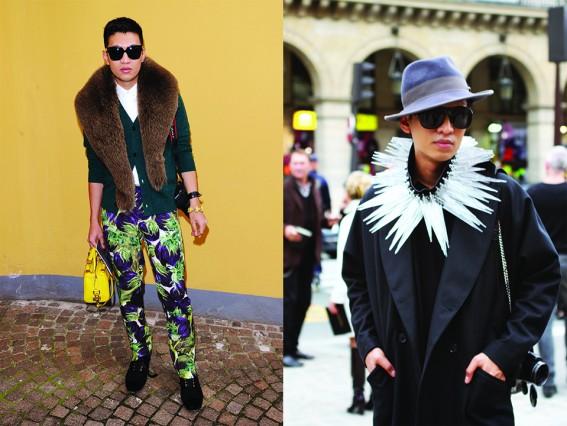 Blogger Bryan Boy với phong cách thời trang ấn tượng pha trộn giữa nam và nữ