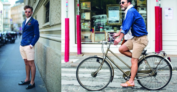 Cách phối đồ nam đẹp với quần shorts