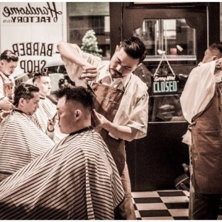 Cắt tóc nam đẹp: bí mật của người thợ tóc