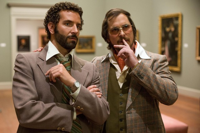 Bradley Cooper trong phim American Hustle