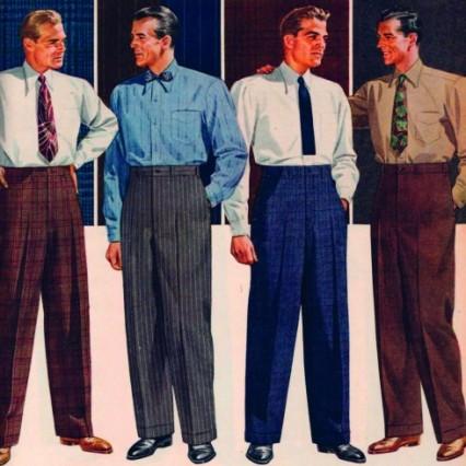 Các kiểu quần tay đẹp cho nam từ những năm 1920