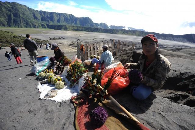 Đời sống của người Hindu ở Bromo, Indonesia