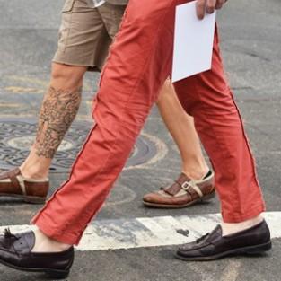 Gợi ý 7 cách mang giày mọi nam đẹp