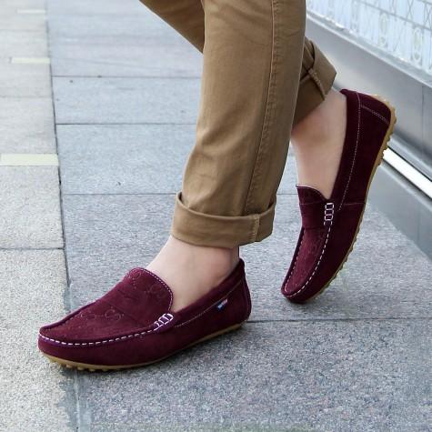 Cách kết hợp giày mọi nam với quần dài