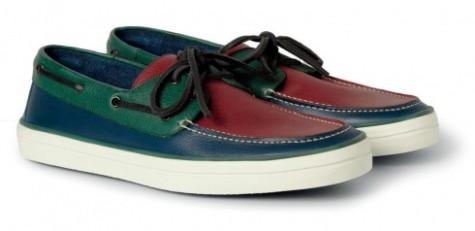 Giày mọi nam Burberry