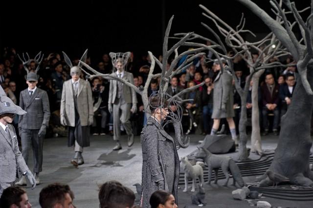 Bộ sưu tập thu đông 2014 của nhà thiết kế thời trang Thom Browne