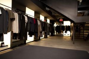 Shop thời trang nam Ssense tại Montreal, Canada