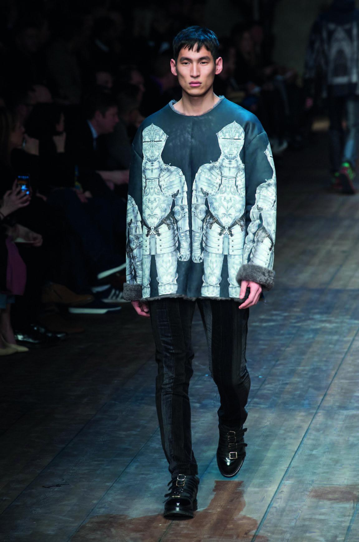 Áo khoác form dài Dolce & Gabbana