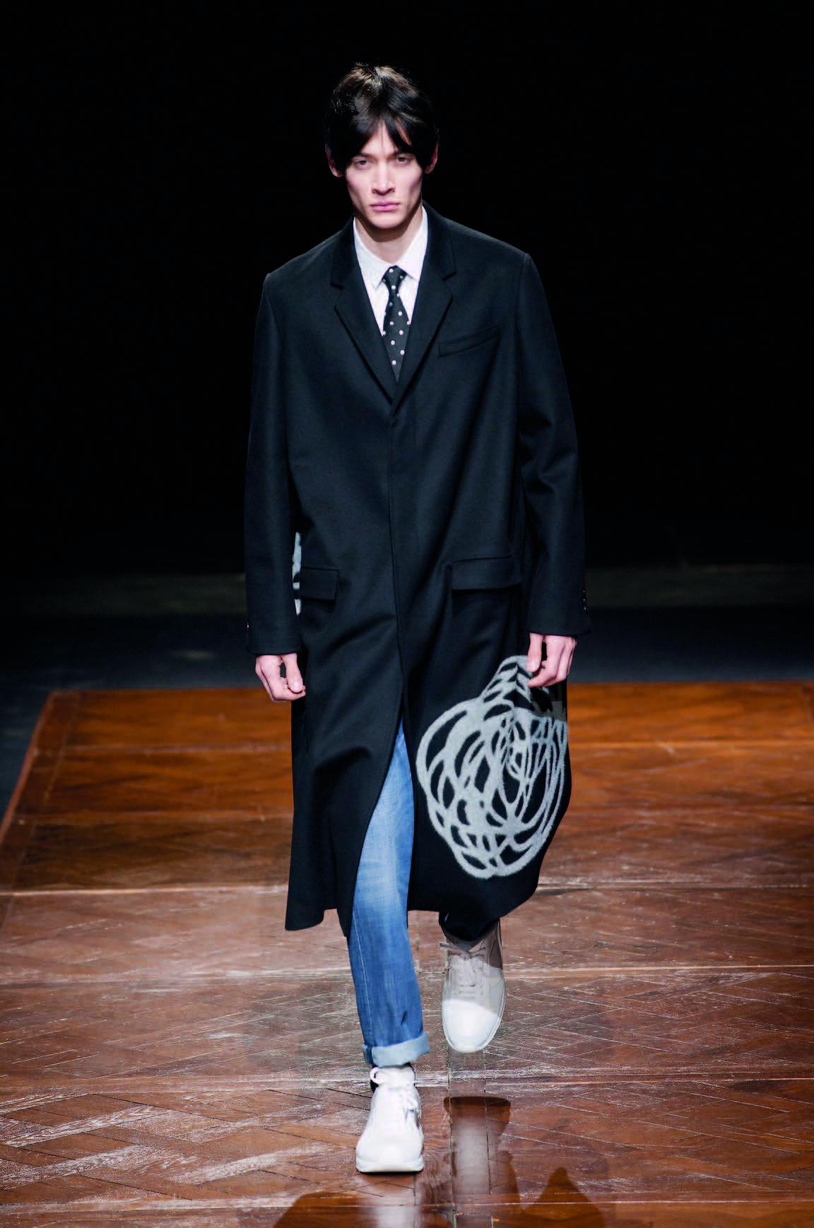 Áo khoác thời trang của Dior Homme