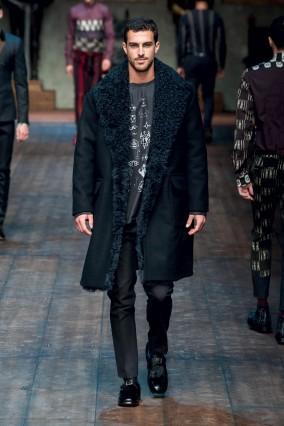 Áo khoác dài nam của Dolce & Gabbana