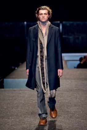 Áo khoác dài nam của Prada