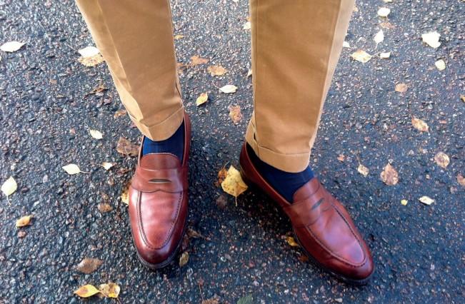 giày lười cho nam