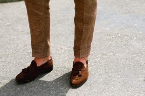 Giày mọi da lộn nam đẹp