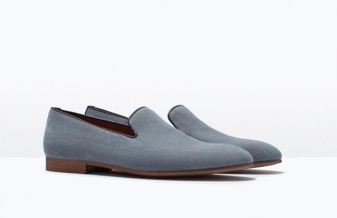giày mọi moccasin Zara Man