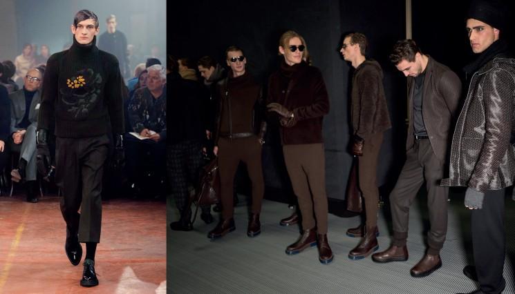 xu hướng giày thời trang thu đông 2015