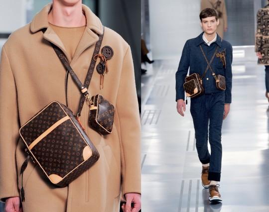 Túi thời trang thu đông 2015 đeo chéo của Louis Vuitton