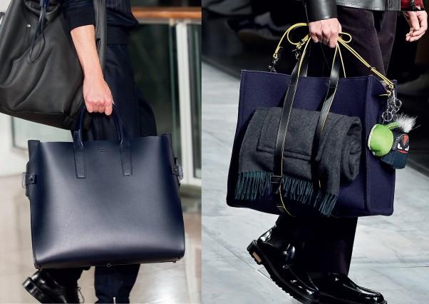 Túi xách thời trang thu đông 2015 của Hermès và  Fendi
