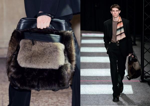 Ba lô thời trang thu đông 2015 của Fendi