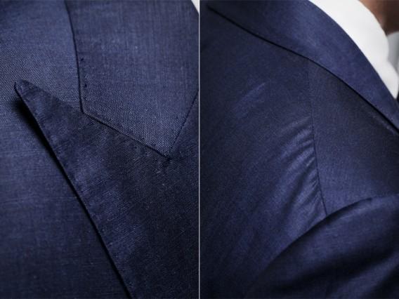 áo vest công sở và ve áo