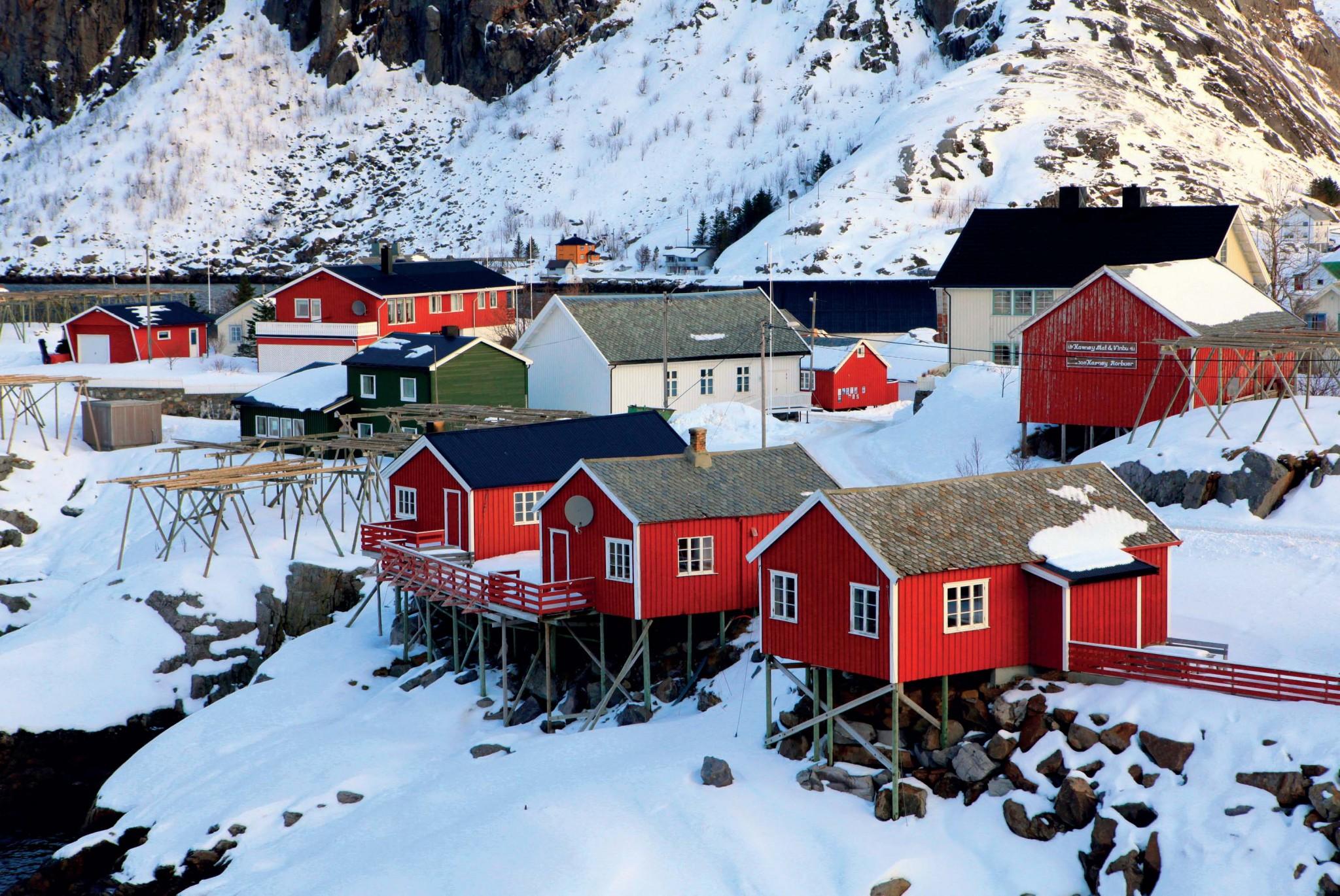 các địa điểm du lịch ở Nauy và Thụy Điển