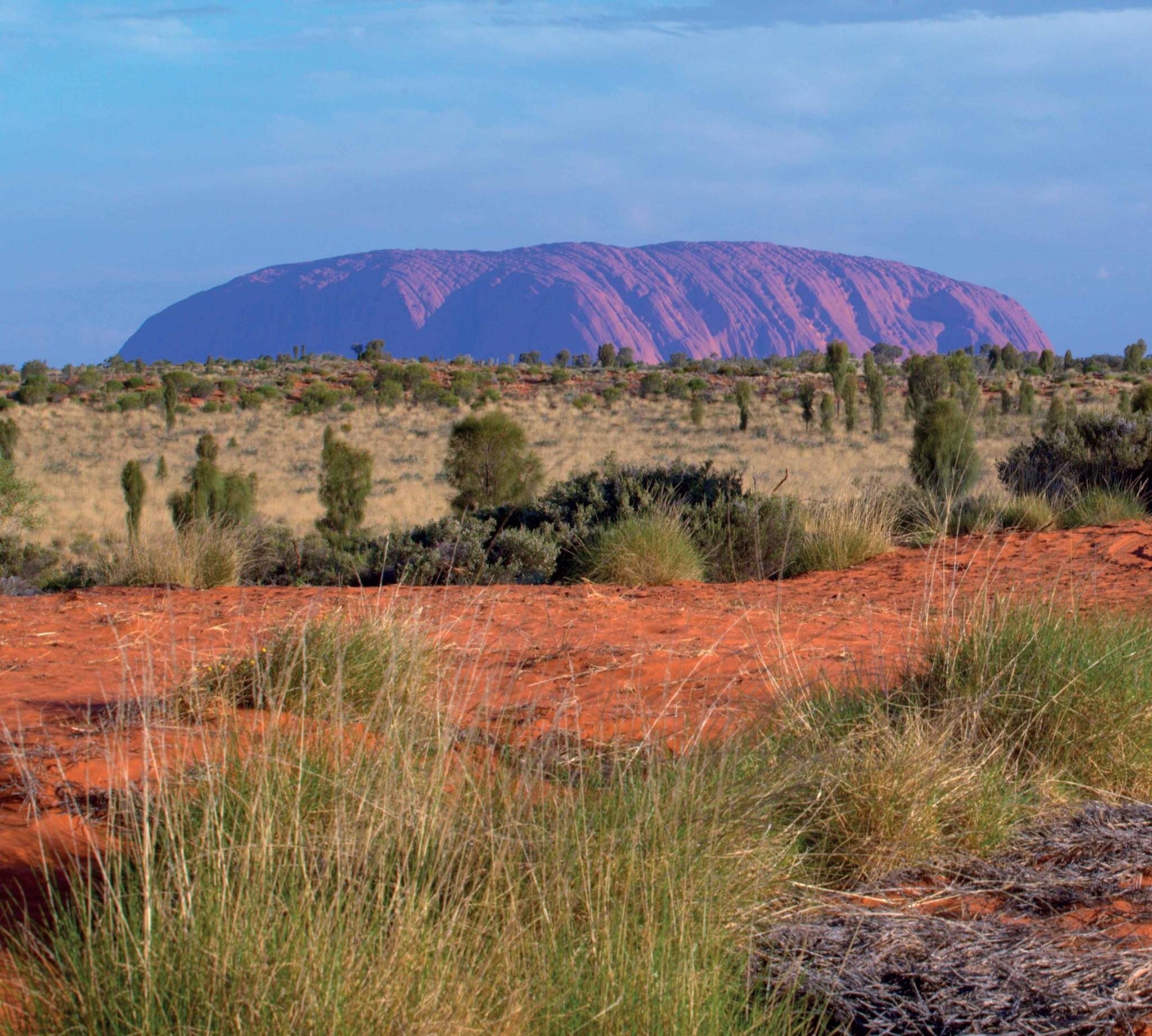 các địa điểm du lịch vùng núi thiêng ở Úc