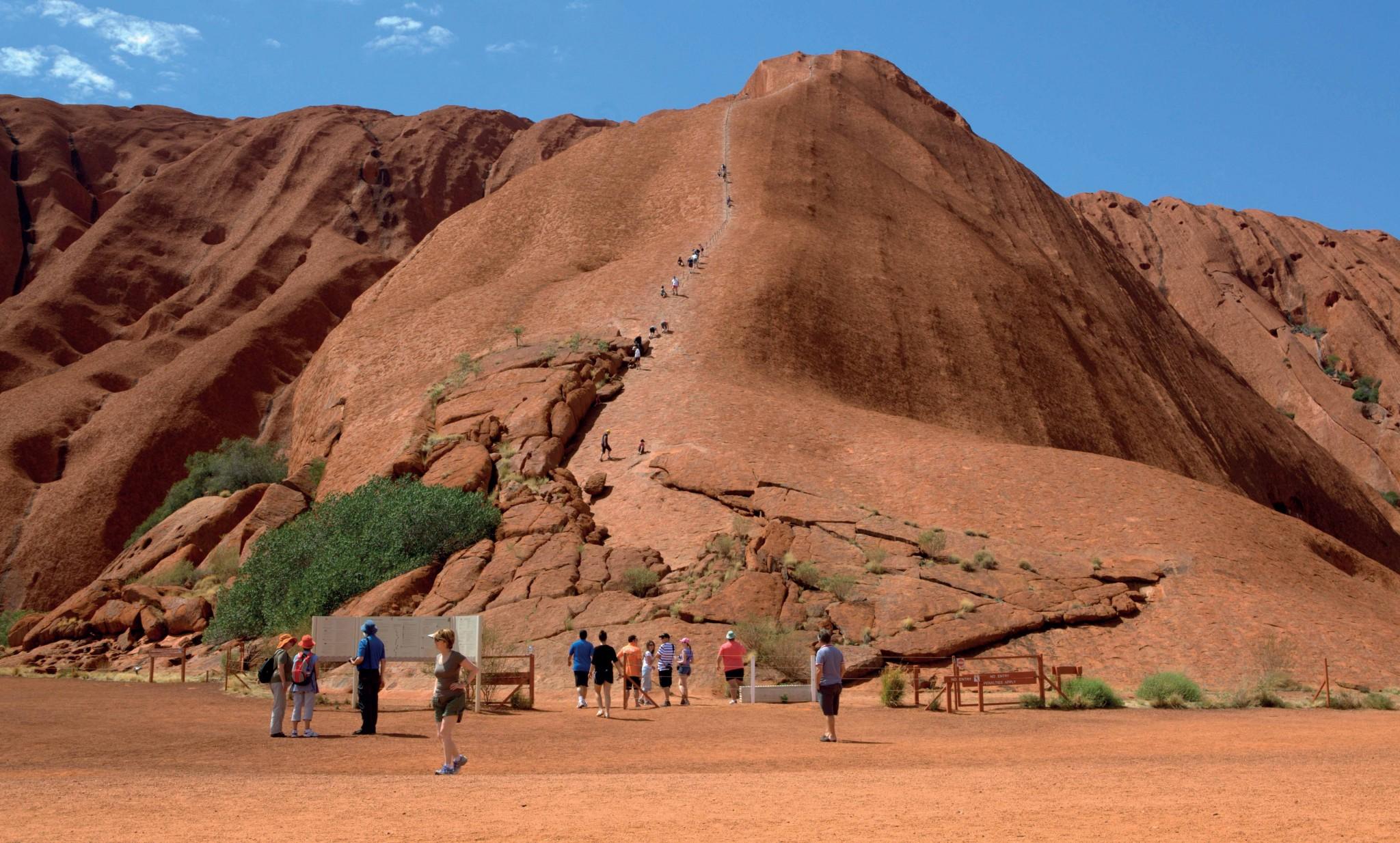 các địa điểm du lịch sa mạc ở Úc