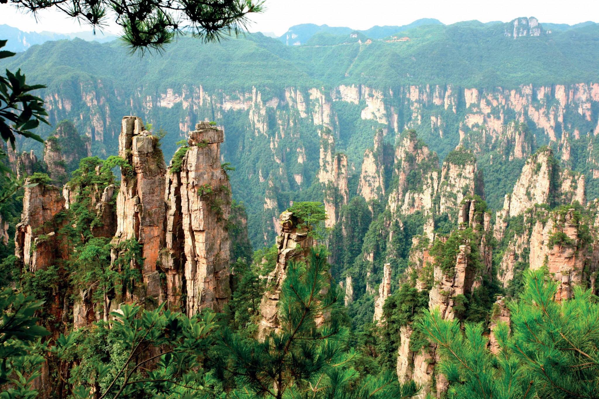 các địa điểm du lịch ở Trương Gia Giới  Trung Quốc