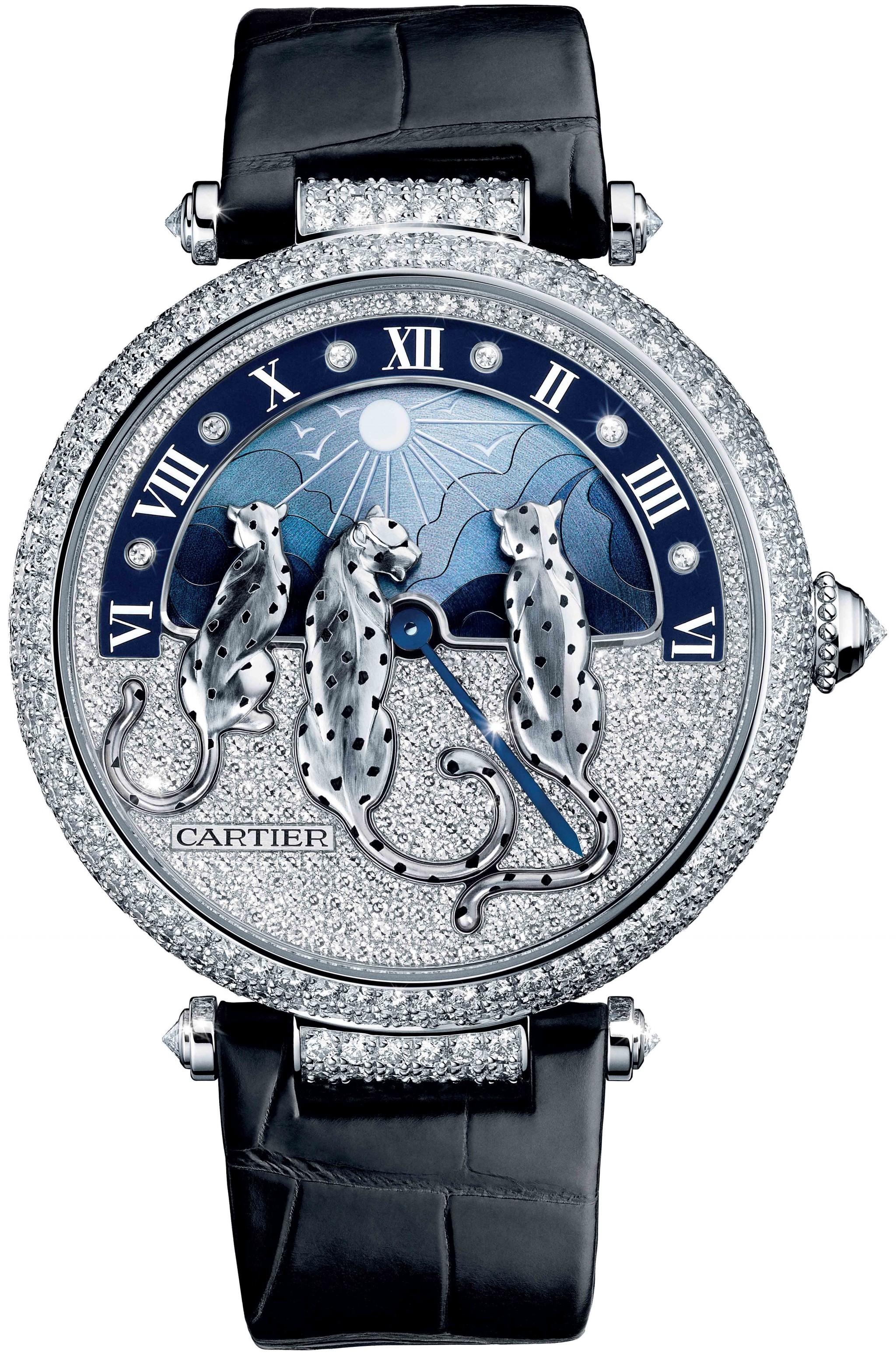 đồng hồ cao cấp nam Rêves de Panthères của Cartier
