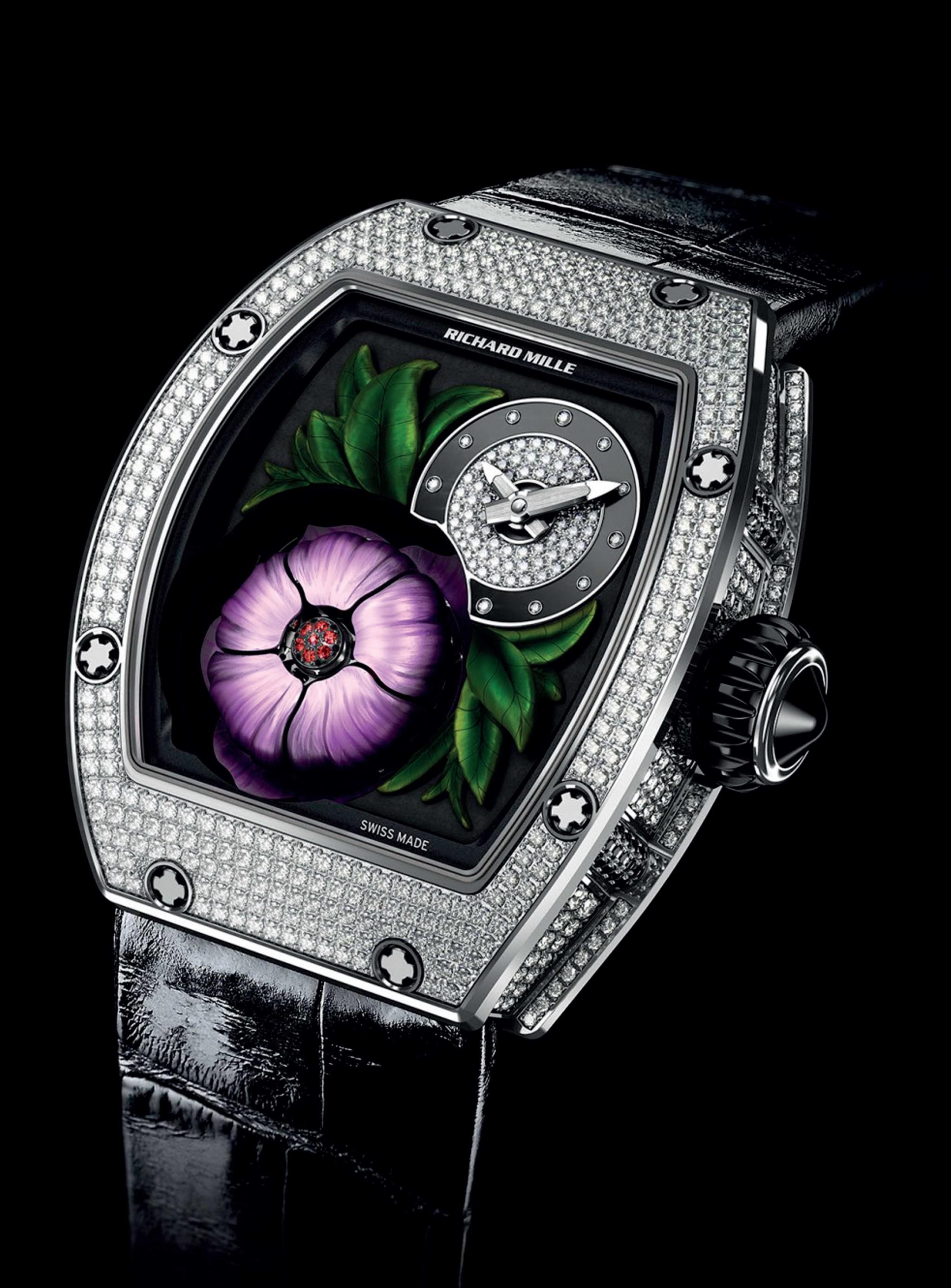 đồng hồ cao cấp RM 19-02 Tourbillon Fleur của Richard Mille