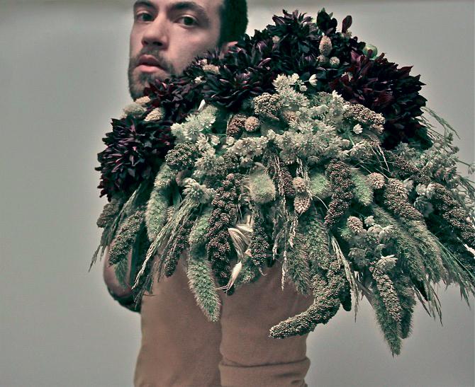 tác phẩm nghệ thuật cắm hoa của Jérémy Martin