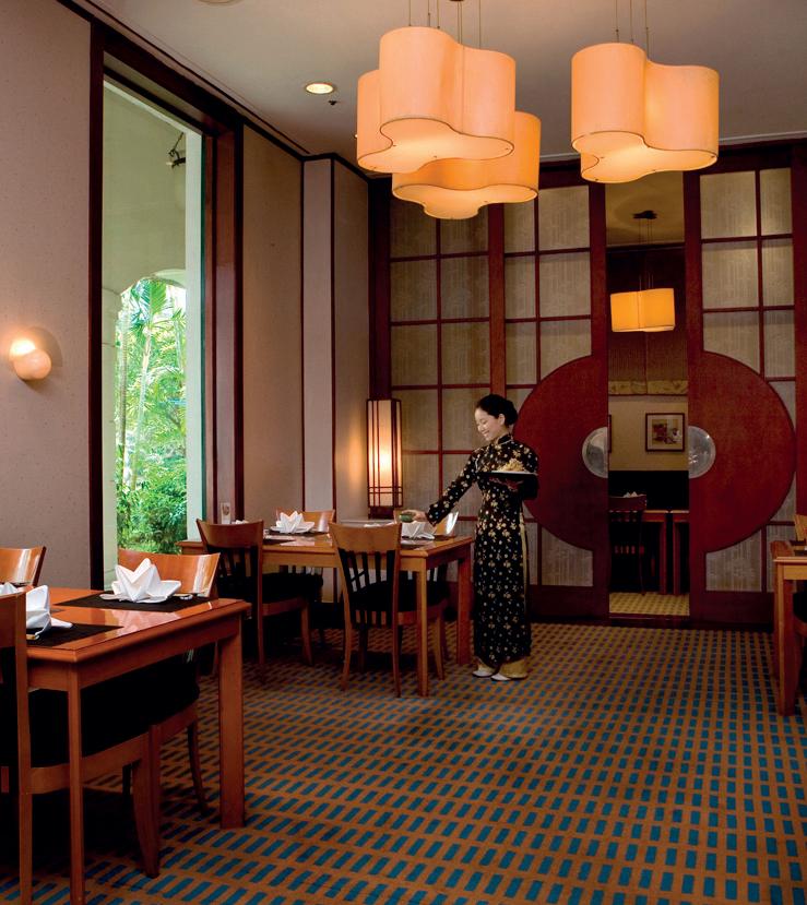 Edo nhà hàng sang trọng ở Hà Nội bán đồ Nhật