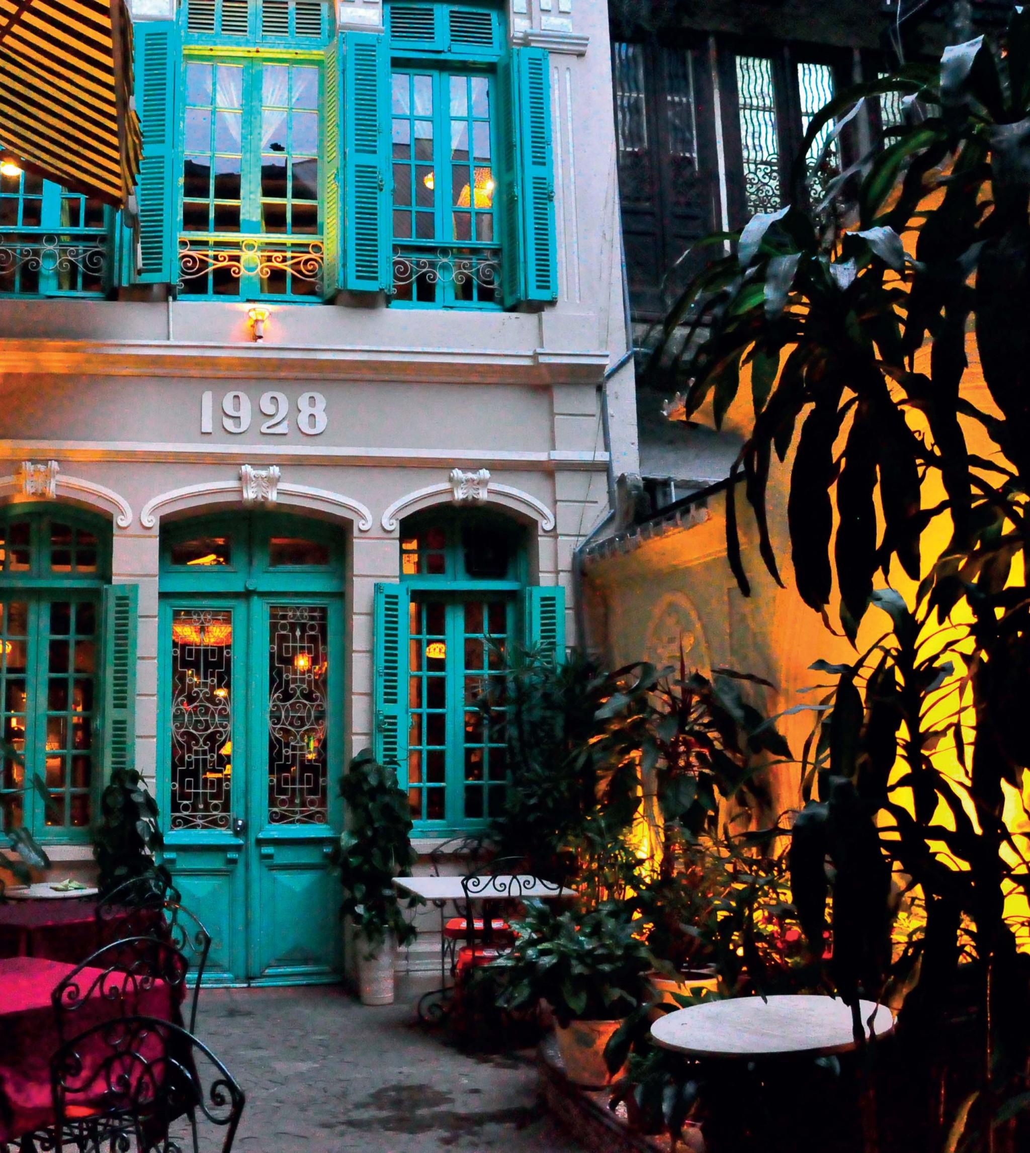 nhà hàng sang trọng ở Hà Nội Green Tangerine