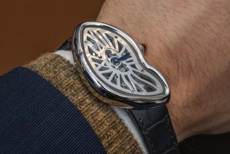Đồng hồ Cartier nam Crash Skeleton