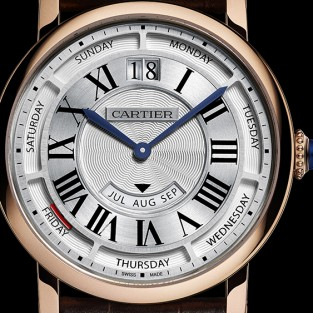 Đồng hồ Cartier Annual Calendar: Định hướng tầm nhìn