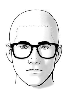 Cách chọn kính nam đẹp cho mặt trái xoan