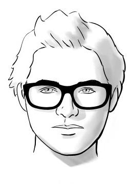 Cách chọn kính nam đẹp cho mặt tròn
